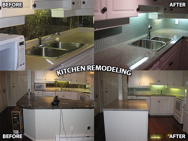 TILESTONE FINISHING SYSTEMS REMODELS AND RENOVATES KITCHENS IN KELOWNA BC